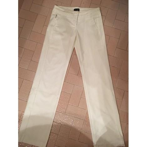 Gerade Hose ARMANI JEANS Weiß, elfenbeinfarben
