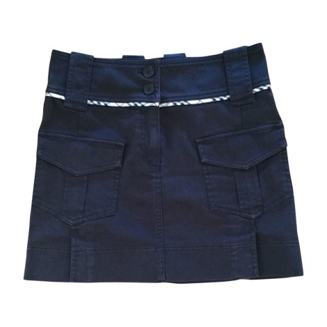 Mini Skirt BURBERRY Black