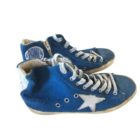 Baskets GOLDEN GOOSE Bleu, bleu marine, bleu turquoise