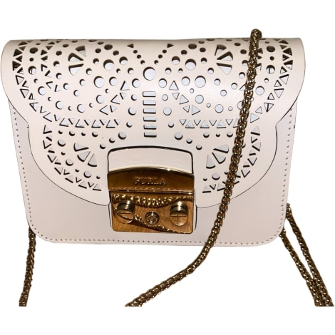 Leather Shoulder Bag FURLA White, off-white, ecru