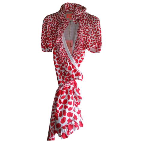 Mini-Kleid MANOUSH Rot, bordeauxrot