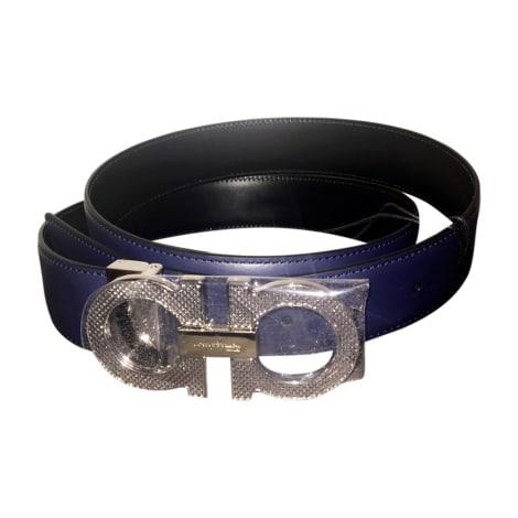 Belt SALVATORE FERRAGAMO Blue, navy, turquoise