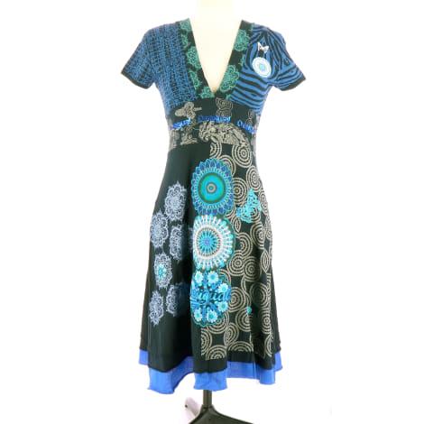 Midi-Kleid DESIGUAL Blau, marineblau, türkisblau