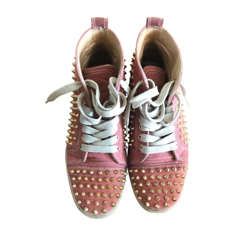 Sneakers CHRISTIAN LOUBOUTIN Rose