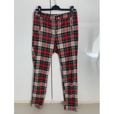 Pantalon droit H&M Multicouleur