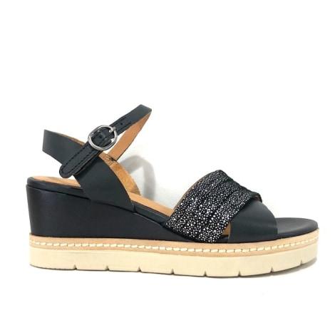 Sandales compensées MINKA DESIGN Noir