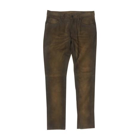 Pantalon slim RALPH LAUREN Marron