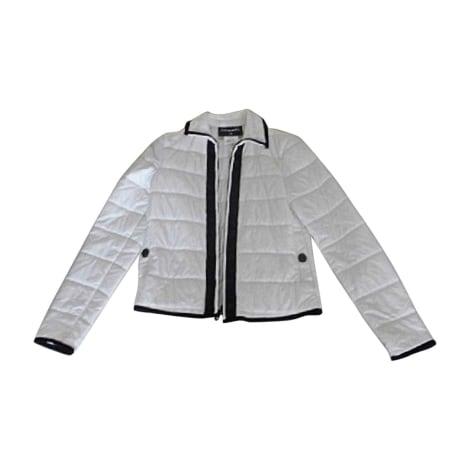 Down Jacket CHANEL White, off-white, ecru
