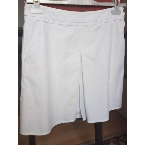 Jupe mi-longue PATRIZIA PEPE Blanc, blanc cassé, écru