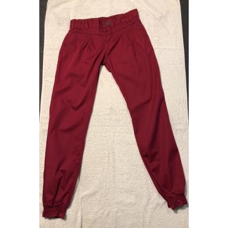 Pantalone DESIGUAL Rosa, fucsia, rosa antico