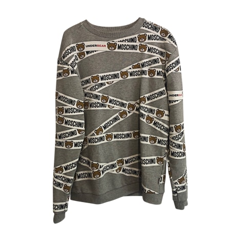 Sweat MOSCHINO Gris, anthracite
