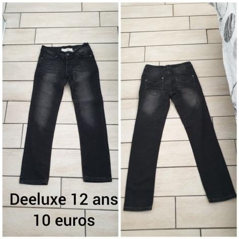Skinny Jeans DELUXE noir gris