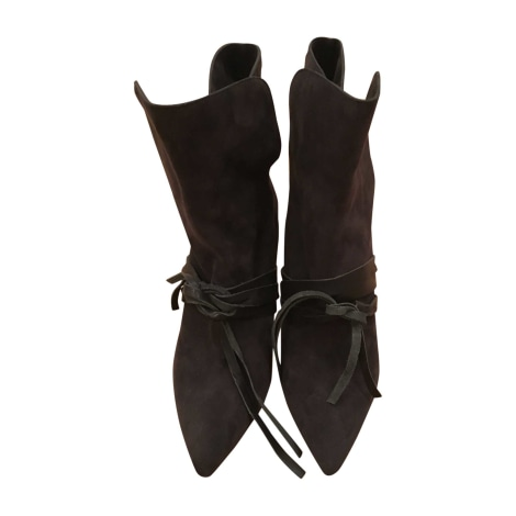 Bottines & low boots à talons ISABEL MARANT Noir