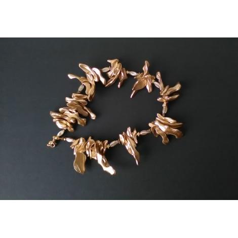 Collier FANTAISIE Doré, bronze, cuivre