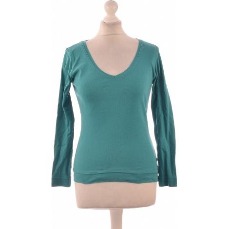 Top, tee-shirt CAMAIEU Vert