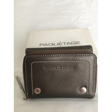 Porte-monnaie PAQUETAGE Kaki