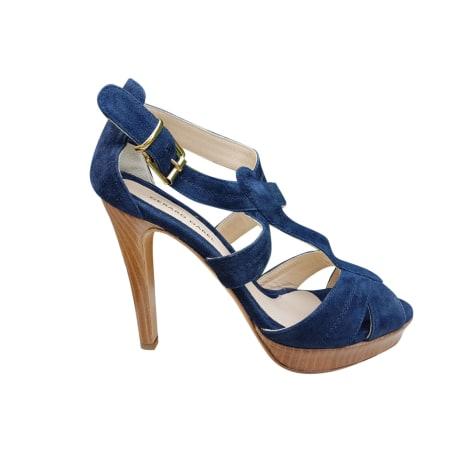 Sandales à talons GERARD DAREL Bleu, bleu marine, bleu turquoise