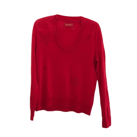 Pull ZADIG & VOLTAIRE Rouge, bordeaux