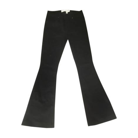Jeans évasé, boot-cut VICTORIA BECKHAM Noir