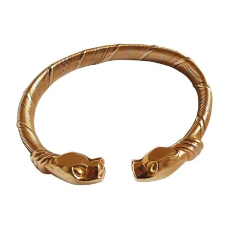 Bracelet CARTIER Doré, bronze, cuivre