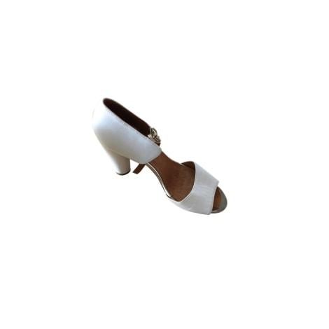 Sandales à talons CHIE MIHARA Blanc, blanc cassé, écru
