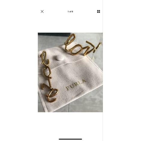 Bracelet FURLA Doré, bronze, cuivre