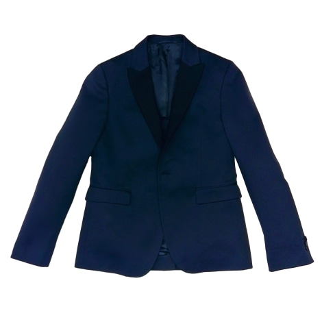 Veste ACNE Bleu, bleu marine, bleu turquoise