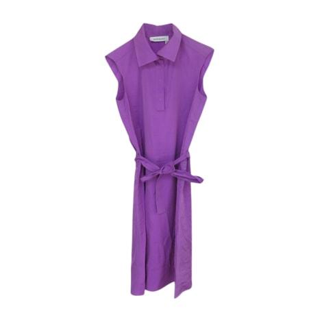 Midi Dress YVES SAINT LAURENT Purple, mauve, lavender
