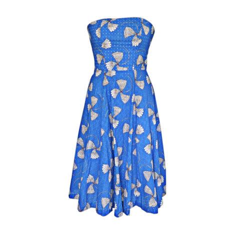 Midi Dress PAUL & JOE Blue, navy, turquoise