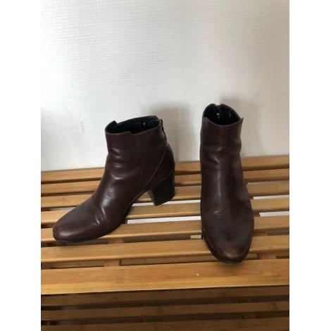 Bottines & low boots à talons BOCAGE Marron