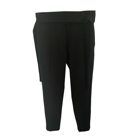 Pantalon carotte IRO Noir