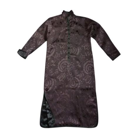 Robe mi-longue YVES SAINT LAURENT Noir