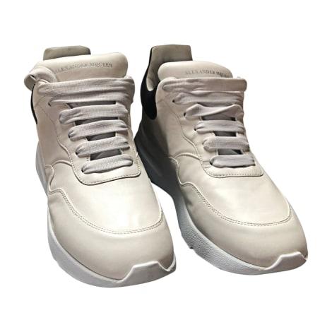 Baskets ALEXANDER MCQUEEN Blanc, blanc cassé, écru