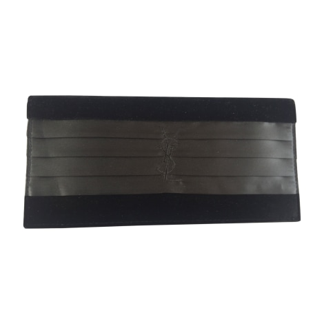 Non-Leather Clutch YVES SAINT LAURENT Black