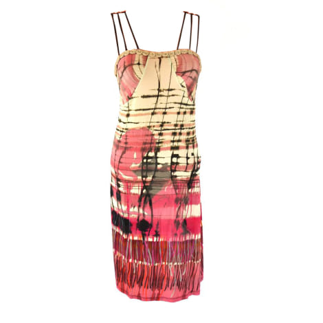 Mini-Kleid SAVE THE QUEEN Mehrfarbig