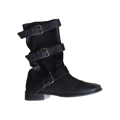 High Heel Boots MAJE Black