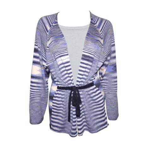 Gilet, cardigan MISSONI Bleu, bleu marine, bleu turquoise