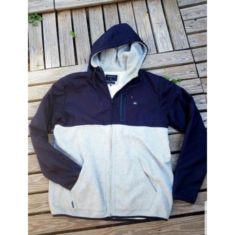 Jacket QUIKSILVER gris noir blanc