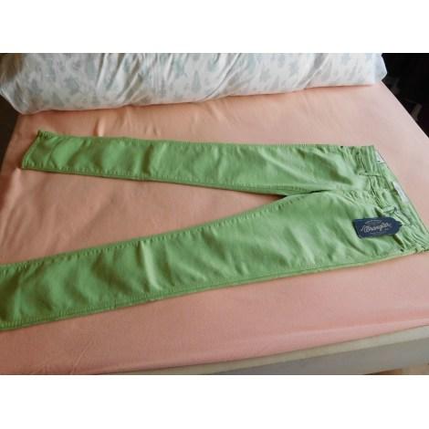 Jeans slim WRANGLER Vert