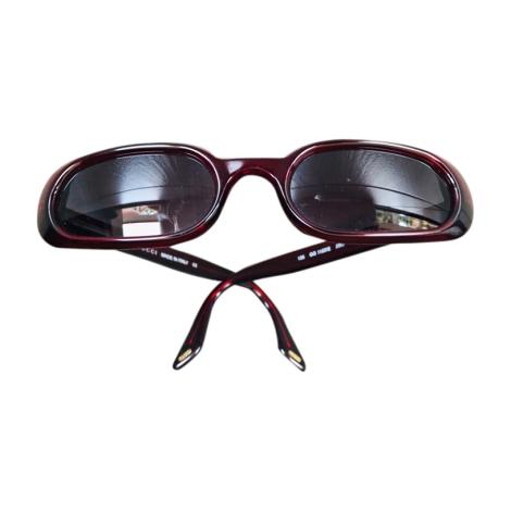 Sonnenbrille GUCCI Rot, bordeauxrot