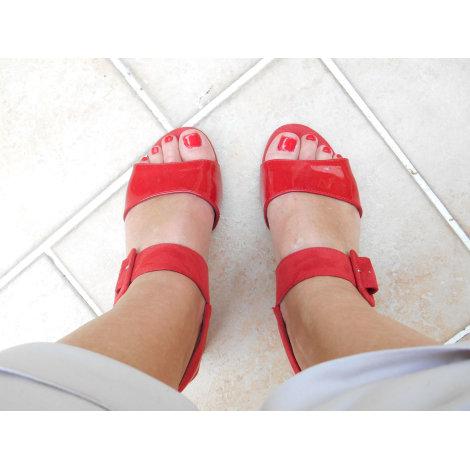 Sandales à talons TAMARIS Rouge, bordeaux