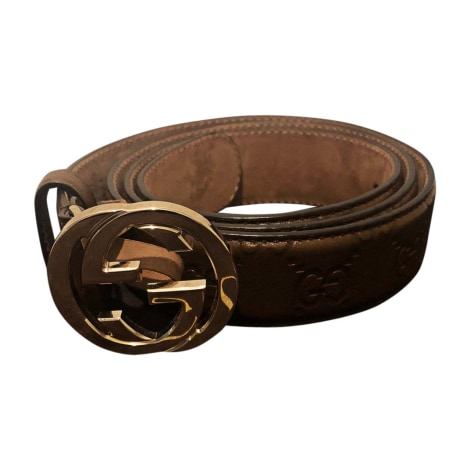Skinny Belt GUCCI Brown