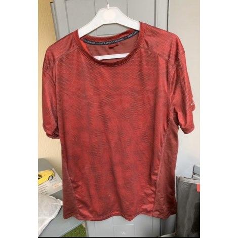 Tee-shirt DÉCATHLON Rouge, bordeaux