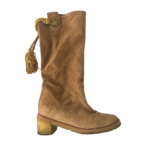 High Heel Boots PAUL & JOE Beige, camel