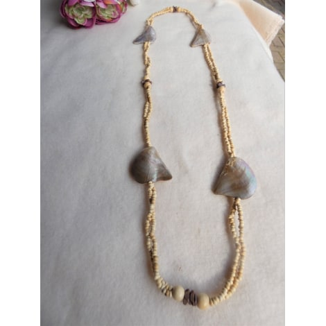 Long Necklace NO COLLECTION Beige, camel