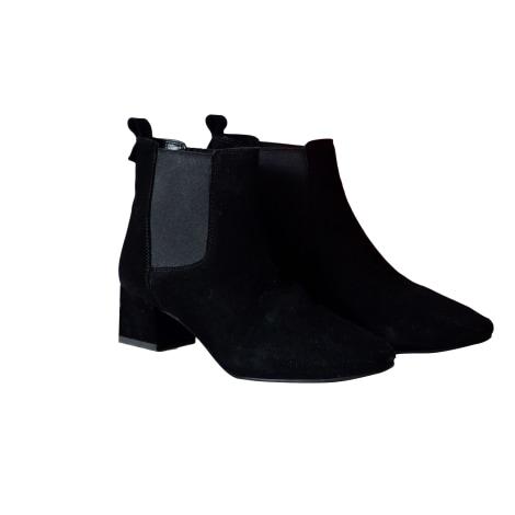 Bottines & low boots à talons ALAIN MANOUKIAN Noir