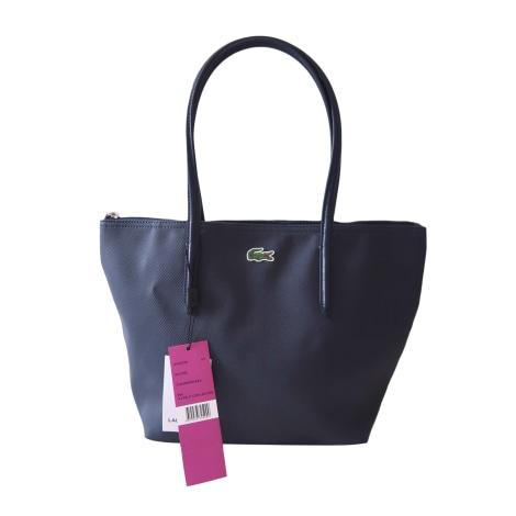 Non-Leather Handbag LACOSTE Blue, navy, turquoise