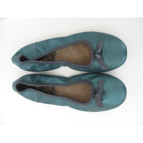 Ballet Flats KICKERS Green