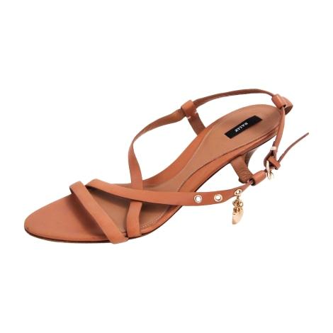 Sandales à talons BALLY Beige, camel