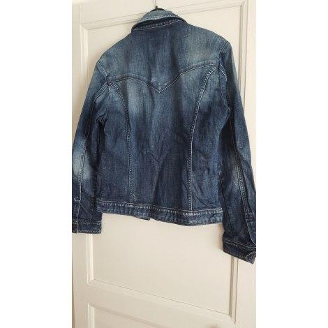 Veste en jean ENERGIE Bleu, bleu marine, bleu turquoise